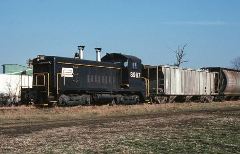 Rail operations in Blissfield, MI